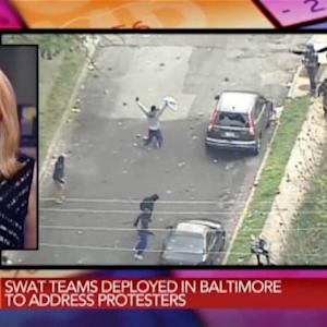 Swat Teams Deployed in Baltimore to Address Protesters
