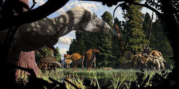 Paleo-Artists Breathe Life, and Color, into Dinosaurs