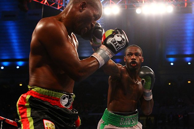 Chad Dawson (grey And Green Trunks) Lands Getty Images