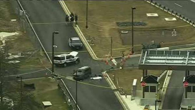 Police investigating incident at NSA gate at Fort Meade