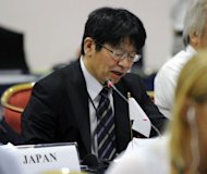 &lt;p&gt;Japan Commissioner Kenji Kgawa addresses the 64th Annual meeting of the International Whaling Commission in Panama City. Japan appealed Wednesday to resume whaling along its coasts but faced heated opposition from Western and Latin American countries, which accused it of trying to end a moratorium on a commercial hunt.&lt;/p&gt;