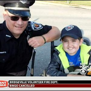 Hundreds Of Police Officers Attend Bethel Park Boy's Funeral