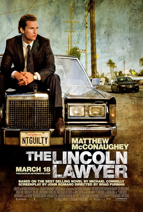 The Lincoln Lawyer 2011 Poster