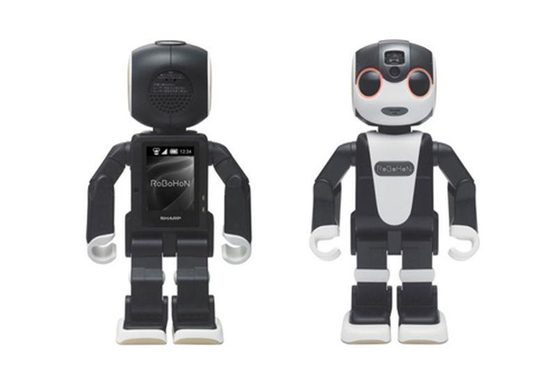 Sharp is making an adorable bipedal robot phone called RoboHon