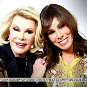 Melissa Rivers Discusses Her Mother Joan's Passing