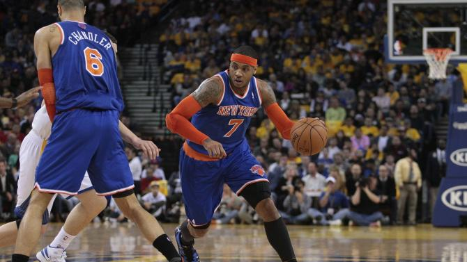 NBA: New York Knicks at Golden State Warriors