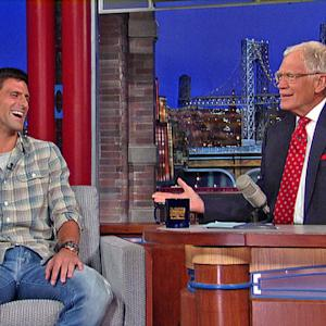 Novak Djokovic Talks the U.S. Open on David Letterman