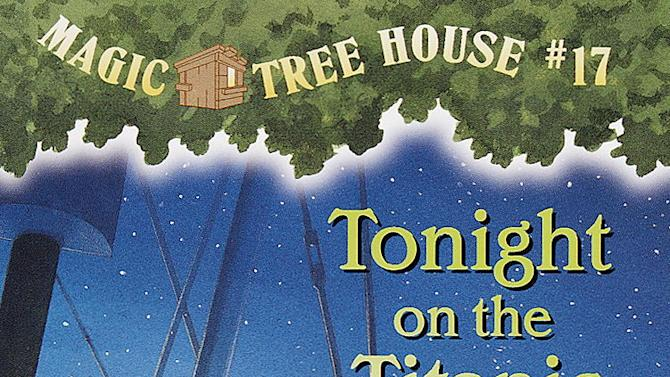 """This image provided by Random House Books for Young Readers shows the cover of """"Tonight on the Titanic"""" by Mary Pope Osborne. (AP Photo/Random House Books for Young Readers)"""