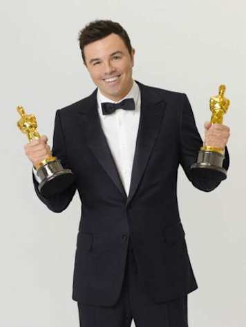 Seth MacFarlane seen in a promo photo for The 85th Annual Academy Awards -- ABC