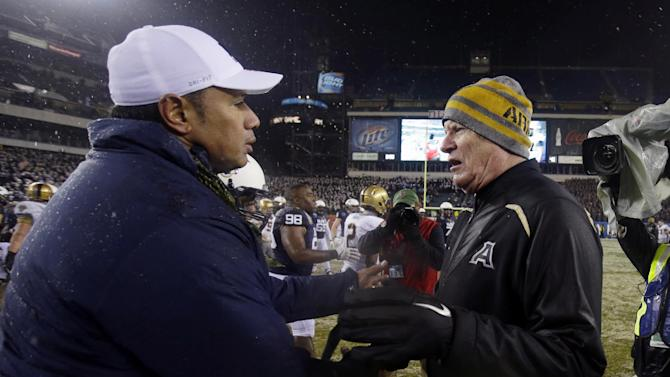 Army fires Ellerson after 5 years, no wins vs Navy