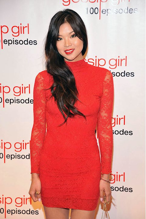 "Nan Zhang attends the ""Gossip Girl"" 100 episode celebration at Cipriani Wall Street on November 19, 2011 in New York City."