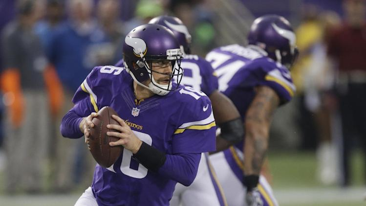 Vikings QB Cassel on track to start for Ponder