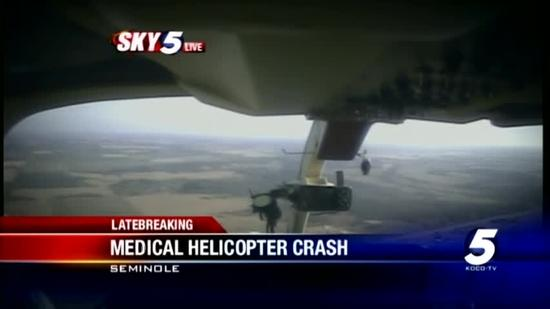Mediflight crash near Seminole investigated