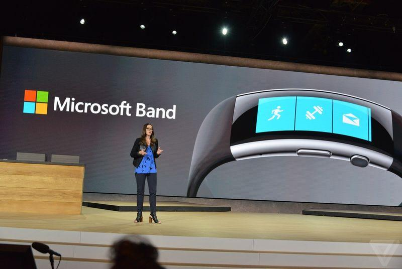 Microsoft's new activity tracker is the $249 Microsoft Band