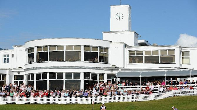 The Royal Birkdale Golf Club in Southport, on August 1, 2010