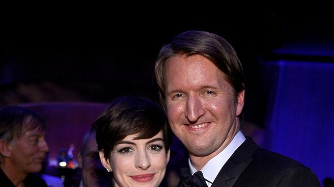 85th Annual Academy Awards - Governors Ball: Anne Hathaway and Tom Hooper