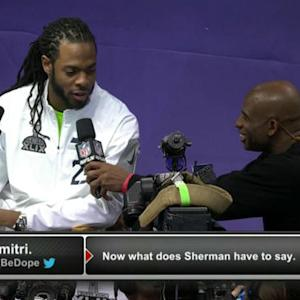 Seattle Seahawks cornerback Richard Sherman: 'It's going to be fun'