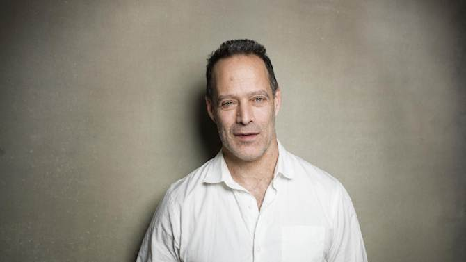 """Director Sebastian Junger from the film """"Which Way Is Front Line From Here"""" poses for a portrait during the 2013 Sundance Film Festival on Sunday, Jan. 20, 2013 in Park City, Utah. (Photo by Victoria Will/Invision/AP Images)"""