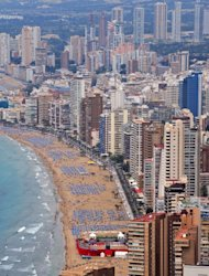 The Costa del Sol in Spain is also known as the Spanish Riviera