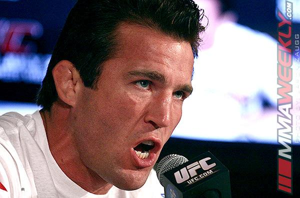 """Chael Sonnen Talked His Way Into Title Fight with One Word – """"Yes"""""""