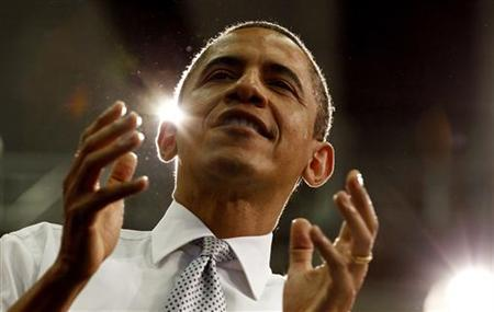 U.S. President Barack Obama speaks about tax fairness and the economy at Florida Atlantic University in Boca Raton