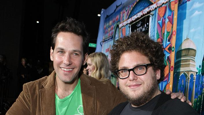 Paul Rudd Jonah Hill 2007