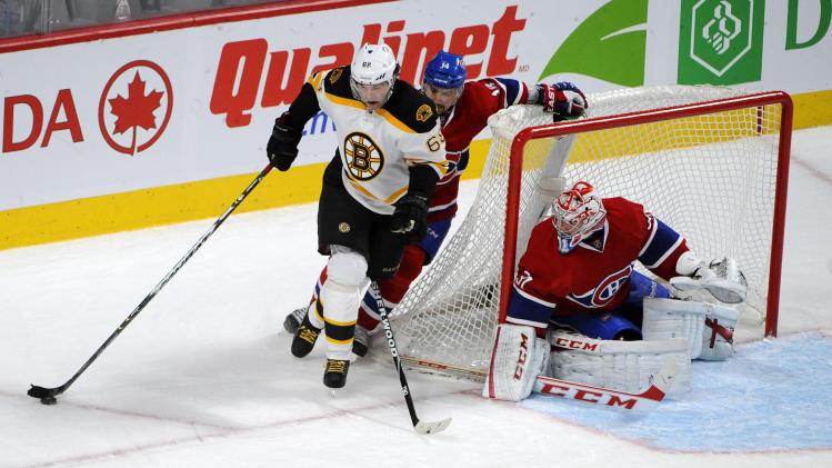 NHL: Boston Bruins at Montreal Canadiens