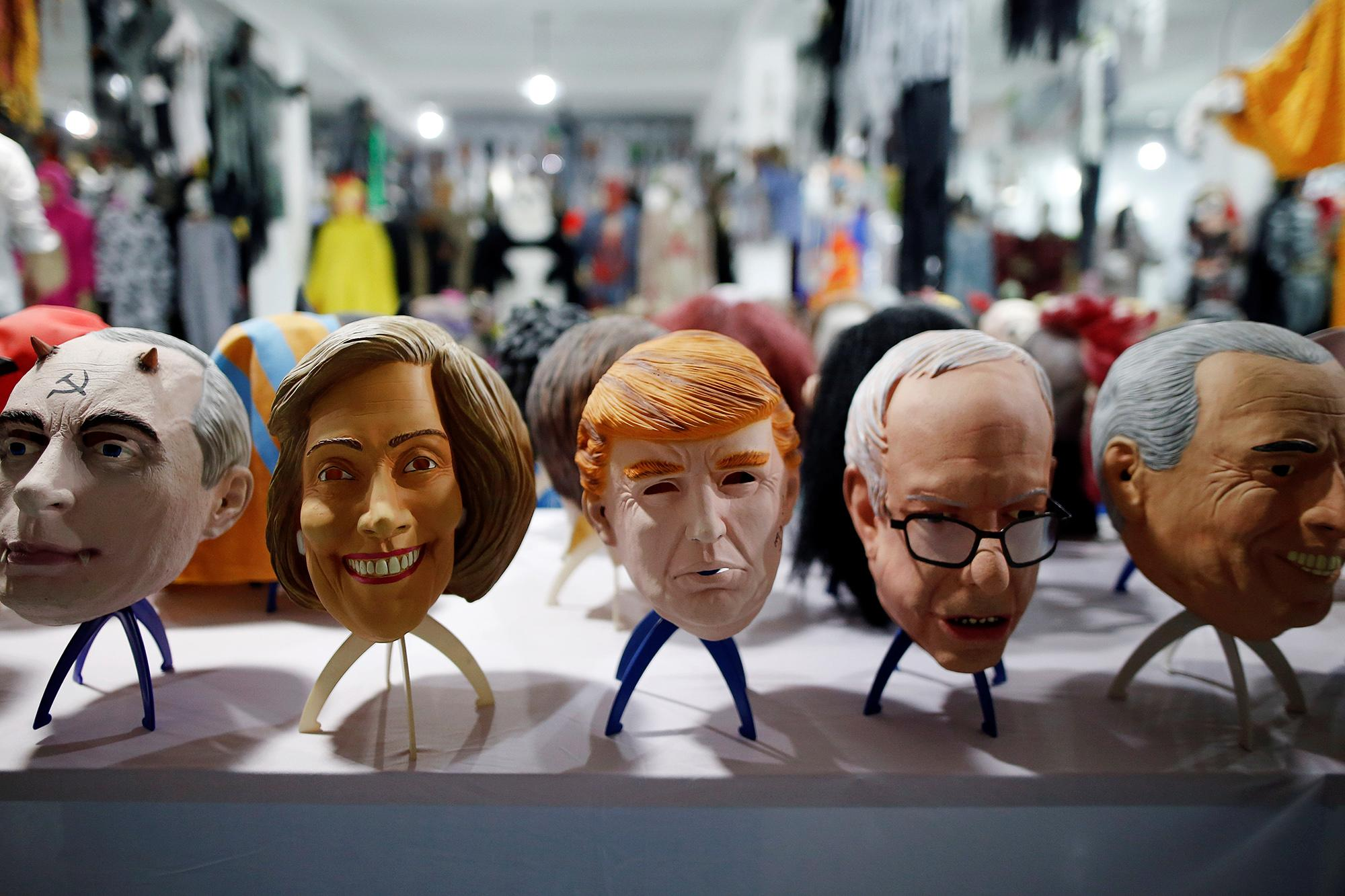 Manufacturing political masks for the U.S. election