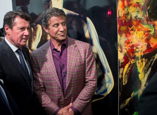 Sylvester Stallone on Painting Career: 'I Am Trying to Prove John Rambo's Subconsciousness'