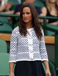 Kate Middleton's sister sports sale cardigan in royal box today…