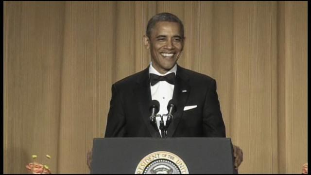 President Obama addresses White House Correspondents' Dinner
