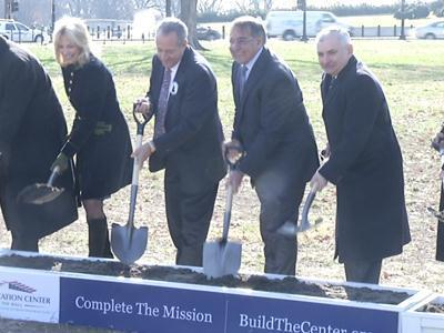 Raw: Breaking ground for Vietnam Memorial center
