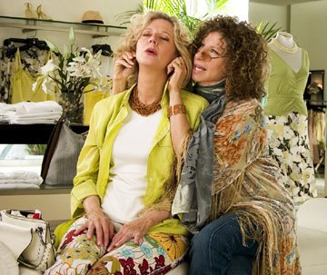 Barbra Streisand and Blythe Danner in Universal Pictures' Meet the Fockers