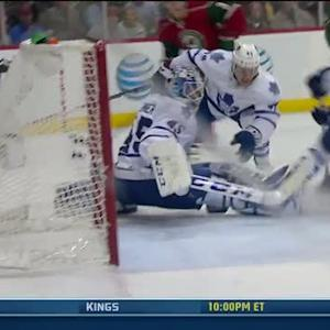 Zach Parise beats Bernier to tie it late