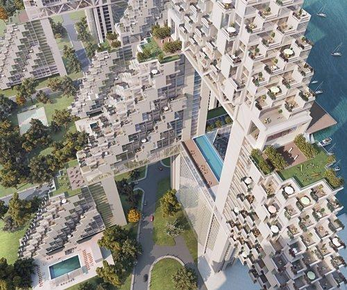 Moshe Safdie's Architecture in Mass. and the World: a Gallery