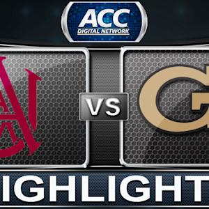 Alabama A&M vs Georgia Tech | 2013 ACC Football Highlights