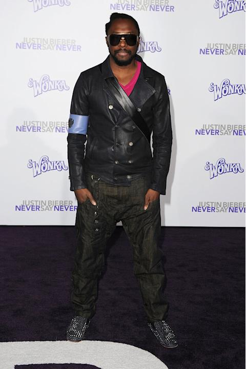 Justin Bieber Never Say Never 2011 LA Premiere Will I Am
