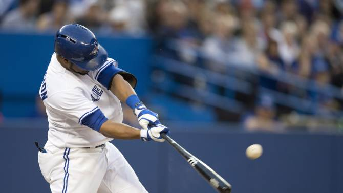 Encarnacion, Jays beat Rockies for 7th win in row