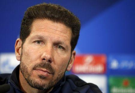 Atletico Madrid news conference