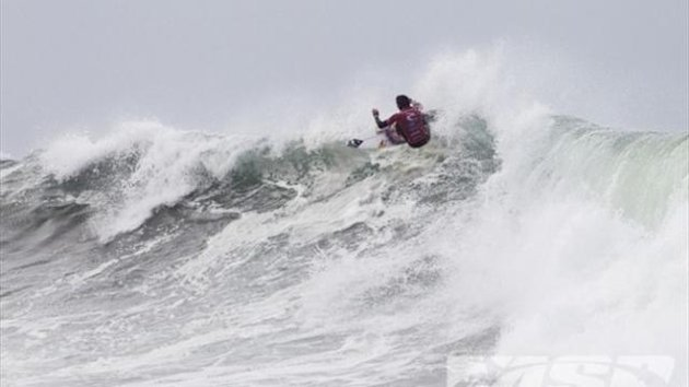 Jordy Smith (ZAF), 25, posted a near-perfect 19.14 out of a possible 20 at Bells Beach (aspworldtour.com)