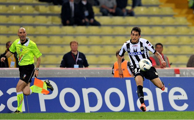 Udinese's Roberto Maximilliano Pereyra Controls AFP/Getty Images