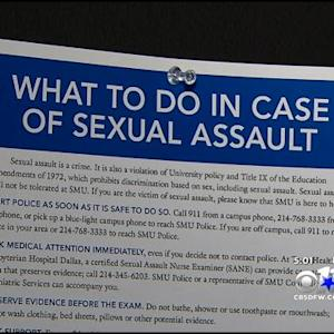White House Campaign Focuses On College Campus Sexual Assaults