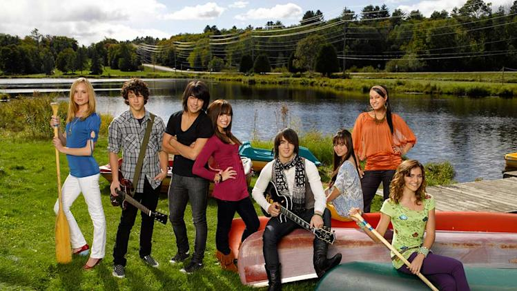 The cast of Camp Rock.