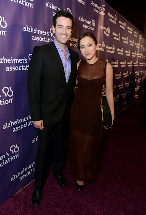 Actors Colin Donnell, left, and Zelda Williams arrive at the 21st Annual 'A Night at Sardi's' to benefit the Alzheimer's Association at the Beverly Hilton Hotel on Wednesday, March 20, 2013 in Beverly
