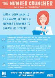 Workology Personality Types: The Number Cruncher image JESS3 Mindjet Facecard NumberCruncher Back v3