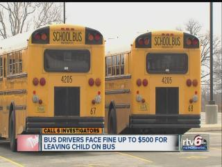 School districts seldom call police when children left on school bus