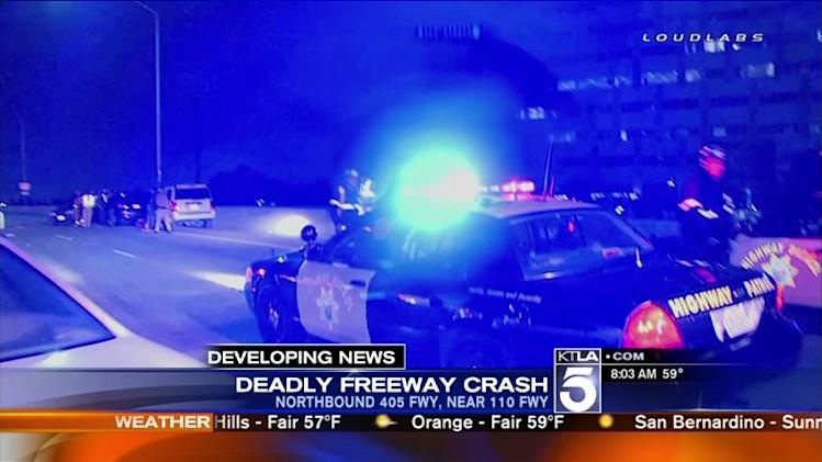 Woman Struck, Killed While Attempting to Push Disabled Vehicle on 405 Freeway