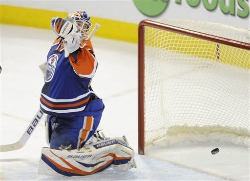 Renney upset with Oilers after 3-2 loss to Sharks
