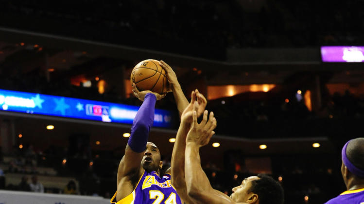 NBA: Los Angeles Lakers at Charlotte Bobcats