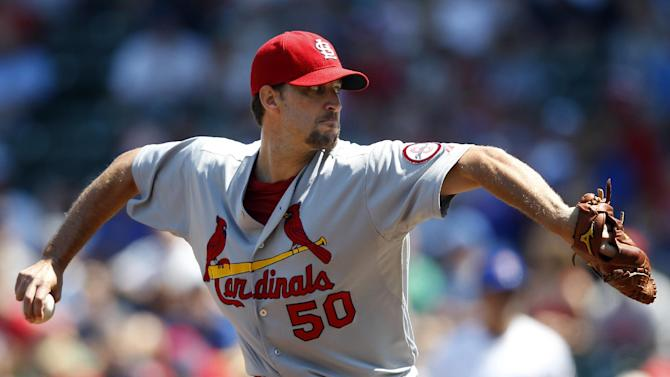 Wainwright, Jay lead Cardinals past Cubs 6-1